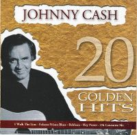 Cover Johnny Cash - 20 Golden Hits
