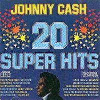 Cover Johnny Cash - 20 Super Hits