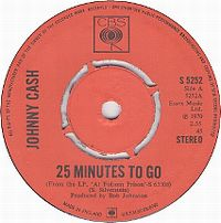 Cover Johnny Cash - 25 Minutes To Go