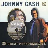 Cover Johnny Cash - 38 Great Performances