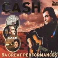 Cover Johnny Cash - 54 Great Performances