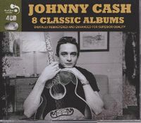 Cover Johnny Cash - 8 Classic Albums