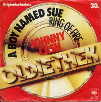 Cover Johnny Cash - A Boy Named Sue