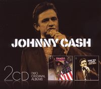 Cover Johnny Cash - At Madison Square Garden + America