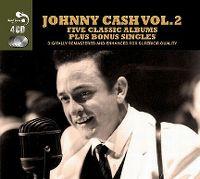 Cover Johnny Cash - Five Classic Albums Plus Bonus Singles Vol. 2