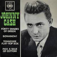 Cover Johnny Cash - Forty Shades Of Green