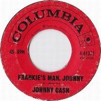 Cover Johnny Cash - Frankie's Man, Johnny