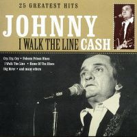 Cover Johnny Cash - I Walk The Line - 25 Greatest Hits