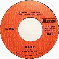 Cover Johnny Cash - Kate
