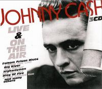 Cover Johnny Cash - Live & On The Air
