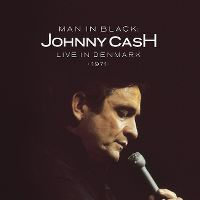 Cover Johnny Cash - Man In Black - Live In Denmark 1971