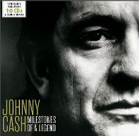 Cover Johnny Cash - Milestones Of A Legend