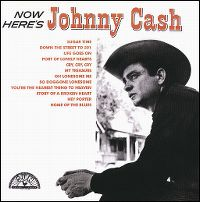 Cover Johnny Cash - Now Here's Johnny Cash
