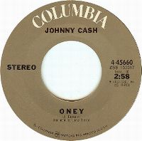 Cover Johnny Cash - Oney