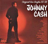 Cover Johnny Cash - Original Sun Singles '55-'58