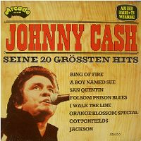 Cover Johnny Cash - Seine 20 grössten Hits