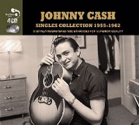 Cover Johnny Cash - Singles Collection 1955-1962