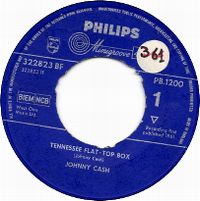 Cover Johnny Cash - Tennessee Flat-Top Box