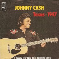 Cover Johnny Cash - Texas 1947