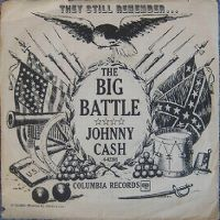 Cover Johnny Cash - The Big Battle