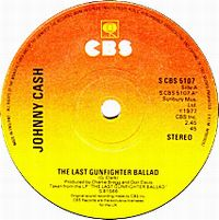 Cover Johnny Cash - The Last Gunfighter Ballad