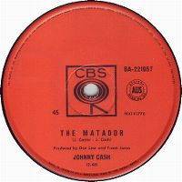 Cover Johnny Cash - The Matador