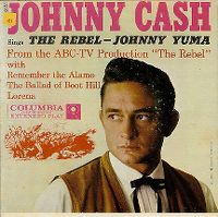 Cover Johnny Cash - The Rebel Johnny Yuma