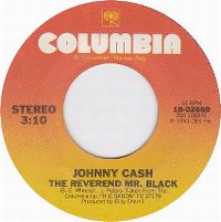 Cover Johnny Cash - The Reverend Mr. Black