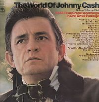 Cover Johnny Cash - The World Of Johnny Cash