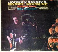 Cover Johnny Cash / Billy Grammer / The Wilburn Brothers - Johnny Cash's Country Round-Up