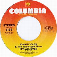 Cover Johnny Cash And The Tennessee Three - It's All Over