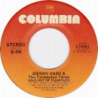 Cover Johnny Cash And The Tennessee Three - Sold Out Of Flagpoles