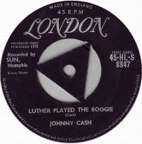 Cover Johnny Cash And The Tennessee Two - Luther Played The Boogie