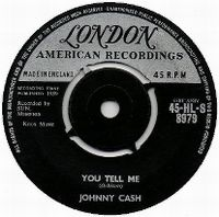 Cover Johnny Cash And The Tennessee Two - You Tell Me