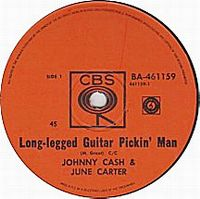 Cover Johnny Cash & June Carter - Long-Legged Guitar Pickin' Man