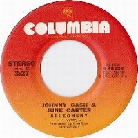 Cover Johnny Cash & June Carter Cash - Allegheny