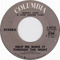 Cover Johnny Cash & June Carter Cash - Help Me Make It Through The Night