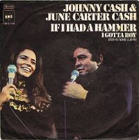 Cover Johnny Cash & June Carter Cash - If I Had A Hammer