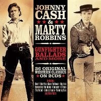 Cover Johnny Cash & Marty Robbins - Gunfighter Ballads And More