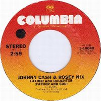Cover Johnny Cash & Rosey Nix - Father And Daughter (Father And Son)