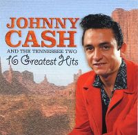 Cover Johnny Cash & The Tennessee Two - 16 Greatest Hits
