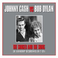 Cover Johnny Cash vs Bob Dylan - The Singer And The Song