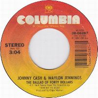 Cover Johnny Cash & Waylon Jennings - Ballad Of Forty Dollars