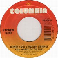 Cover Johnny Cash & Waylon Jennings - Even Cowgirls Get The Blues