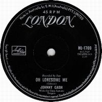 Cover Johnny Cash With The Gene Lowery Singers - Oh Lonesome Me