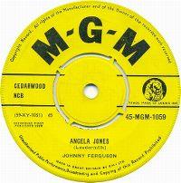 Cover Johnny Ferguson - Angela Jones