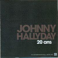 Cover Johnny Hallyday - 20 ans