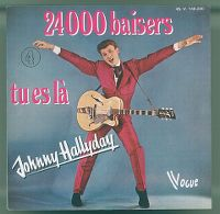 Cover Johnny Hallyday - 24000 baisers