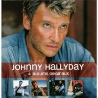 Cover Johnny Hallyday - 4 albums originaux