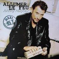 Cover Johnny Hallyday - Allumer le feu